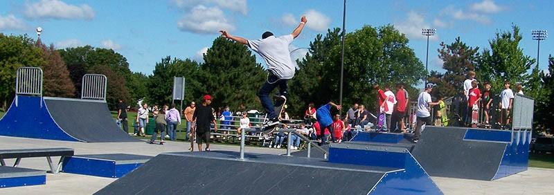 Beloit skate park skateboard telfer 8